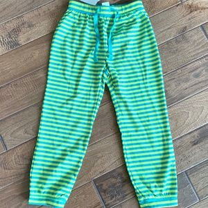 NWT Gap Kids Girls Green Pajama Pants - Size 6